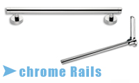 Chrome Grab Rails