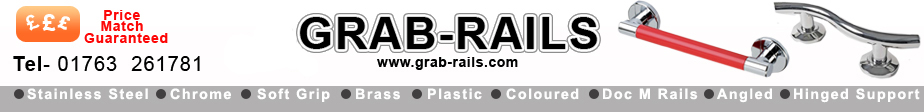 Grab Rails | Grab Rail | Grab Bar | Grab Bars | Stainless Steel Grab Rails